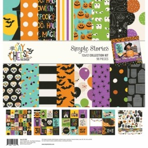 Say Cheese Halloween - Collection Kit di Simple Stories 30x30 cm