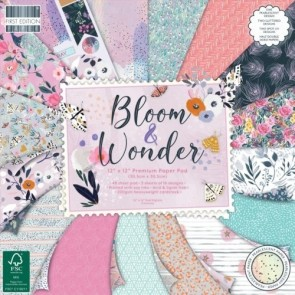 Bloom and Wonder - Blocco di carte First Edition 30x30 cm