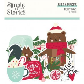 Holly Days Bits & Pieces - Simple Stories