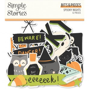Spooky Nights Bits & Pieces - Simple Stories