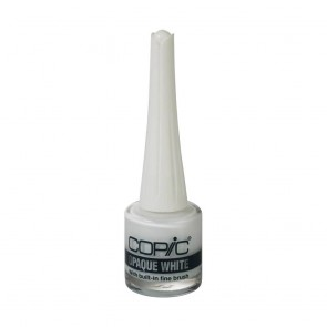Copic Opaque White con pennello
