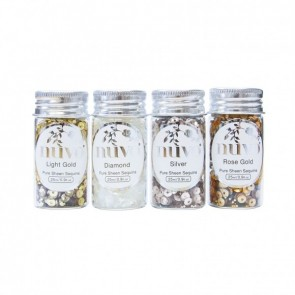 Golden Years - Pure Sheen Sequins - Set di Paillettes Nuvo
