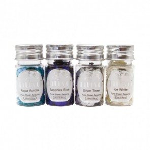 Let It Snow - Pure Sheen Sequins - Set di Paillettes Nuvo