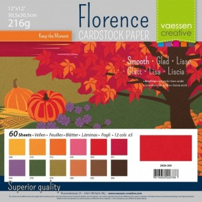 Autumn Smooth Pack - Cartoncini Florence