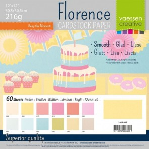 Pastel Smooth Pack - Cartoncini Florence