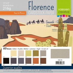 Earth Tones Smooth Pack - Cartoncini Florence