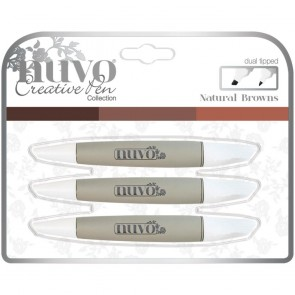 Natural Browns - Set Nuvo Alcohol Marker