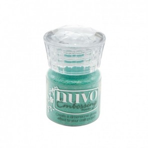 Turquoise Lagoon - Polvere da Embossing Nuvo