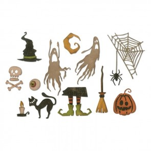 Frightful Things - Fustella Sizzix Thinlits by Tim Holtz