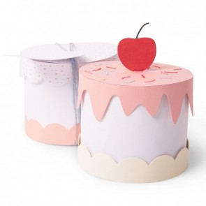 Cake Box - Fustella Sizzix Thinlits by Tim Holtz