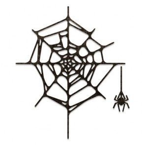 Spider Web - Fustella Sizzix Thinlits by Tim Holtz