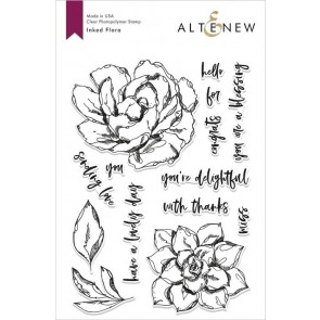 Inked Flora - Timbro Altenew