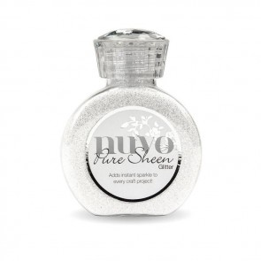 Ice White - Pure Sheen Glitter Nuvo