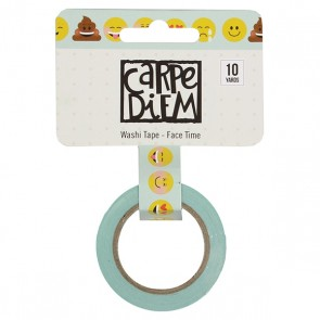 Face Time Washi Tape - Accessori Carpe Diem Planner