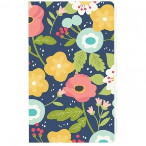 Faith Navy Floral Doc-It Journal - Accessori Carpe Diem Planner