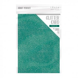 Turquoise Lake - Carta Glitter A4 Tonic Studio