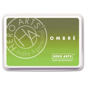 Inchiostro Hero Arts Ombre Lime to Forever Green