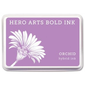Orchid - Bold - Inchiostro Hero Arts Shadow