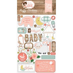 Baby Girl Puffy Stickers - Echo Park