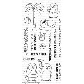 Penguins in Paradise - Timbro My Favorite Things