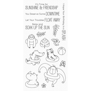 Sunshine & Friendship - Timbro My Favorite Things