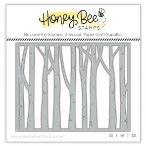 Birch A2 Cover Plate Base - Fustella Honey Bee