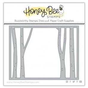 Birch A2 Cover Plate Top - Fustella Honey Bee