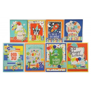 Birthday Blast by Simple Stories - Kit Crea le tue Cards!