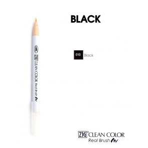 Black - Pennarelli Zig Clean Color Real Brush