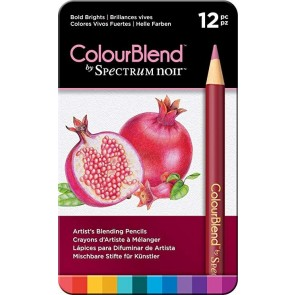 Bold Brights - Set da 12 Matite Colourblend Spectrum Noir