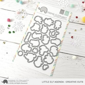 Little Elf Agenda - Fustella Mama Elephant