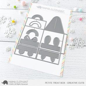 Petite Treat Box - Fustella Mama Elephant