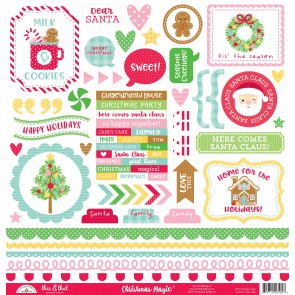 Christmas Magic This & That Stickers - Doodlebug