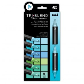 Coastal Blends - 6 Set - Spectrum Noir TriBlend