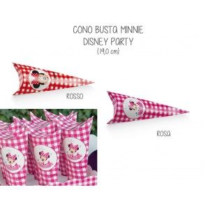 Cono Busta Minnie Disney Party (20 pezzi)