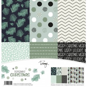 Peppermint Christmas - Tommy Art Paper Pad