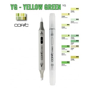 Yellow Green - YG - Pennarelli Copic Ciao