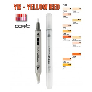 Yellow Red - YR - Pennarelli Copic Ciao