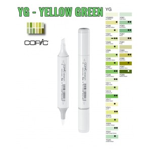 Yellow Green - YG - Pennarelli Copic Sketch