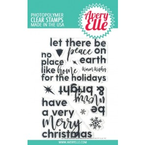 Corner Sentiments Holiday - Timbro Avery Elle