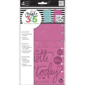 Dashboard - Accessori Create 365 Happy Planner