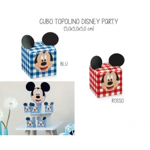 Scatolina Cubo Topolino Disney Party (20 pezzi)