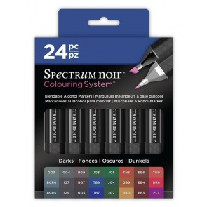 Darks - 24 Set - Spectrum Noir Coloring System