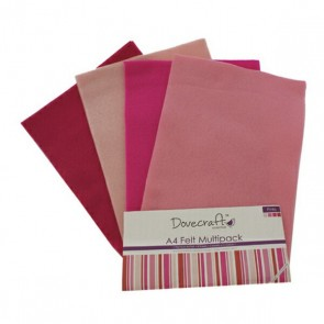 Pinks - Feltro A4 Multipack