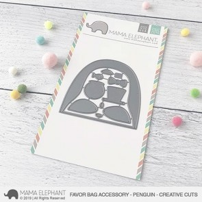 Penguin Favor Bag Accessory - Fustella Mama Elephant
