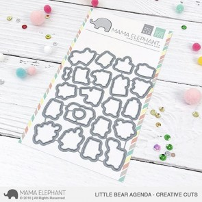 Little Bear Agenda - Fustella Mama Elephant