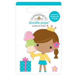 Birthday Princess Doodlepops - Doodlebug