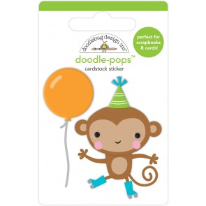 Monkey Business Doodlepops - Doodlebug