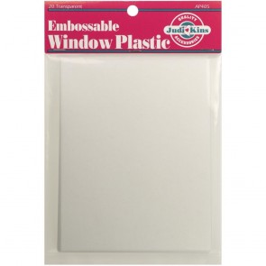 Embossable Window Plastic - Acetato per embossing