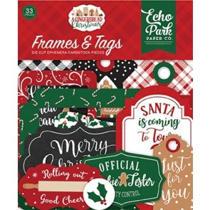 A Gingerbread Christmas Frames & Tags - Echo Park